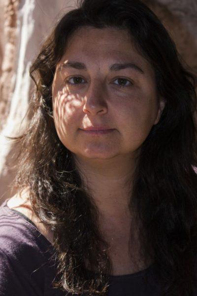 Ana Sánchez en la ciudad de San Pedro de Atacama (Chile), realizada por el fotógrafo Pepcandela