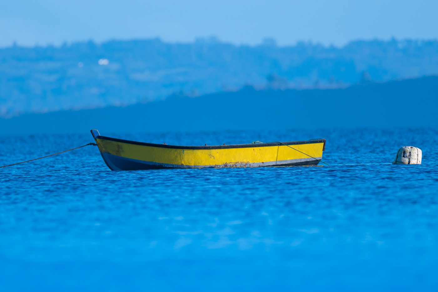 Bote en Tenaún