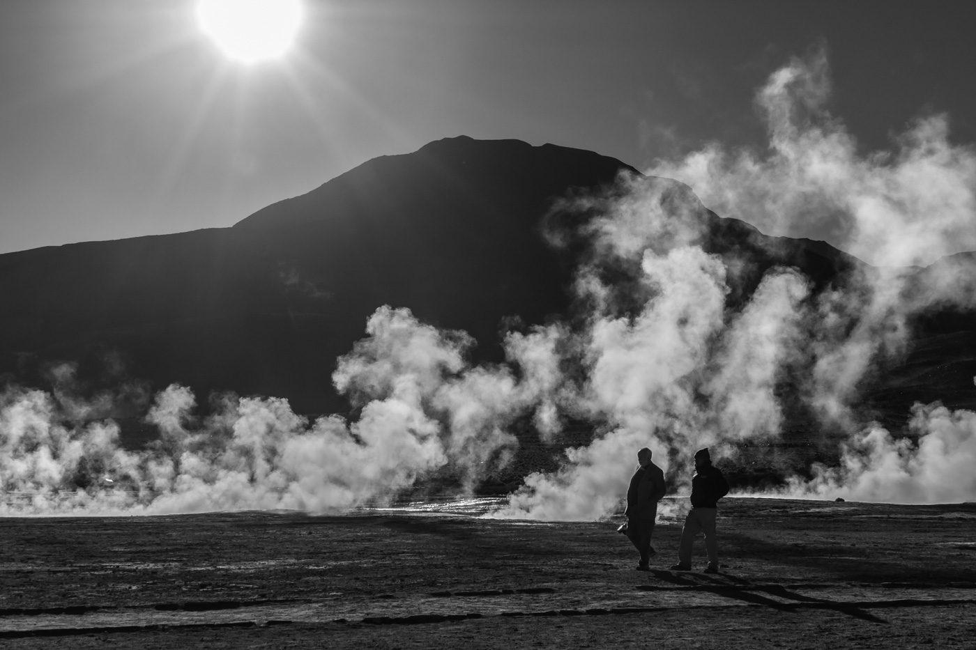 Géiser en San Pedro de Atacama