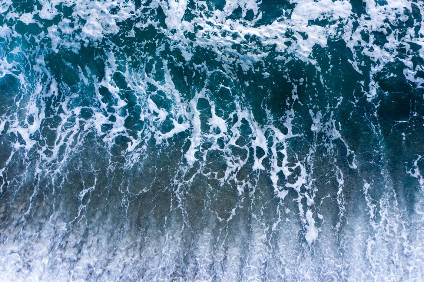 Rompiente de playa Faro Corona